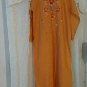 Last chance Beautiful embroidery work maxi dress!NWT for sale